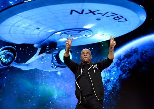 "Actor Levar Burton, from ""Star Trek,"" will appear at Geek'd Con in Shreveport."