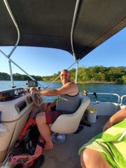 Jamin Seabert enjoyed being on Table Rock Lake. He died in a traffic accident on Saturday.