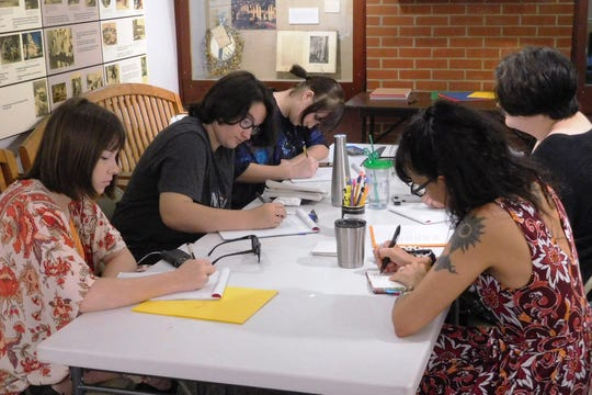 For the past 15 years, the Knott House has offered the summer poetry workshop for young writers.