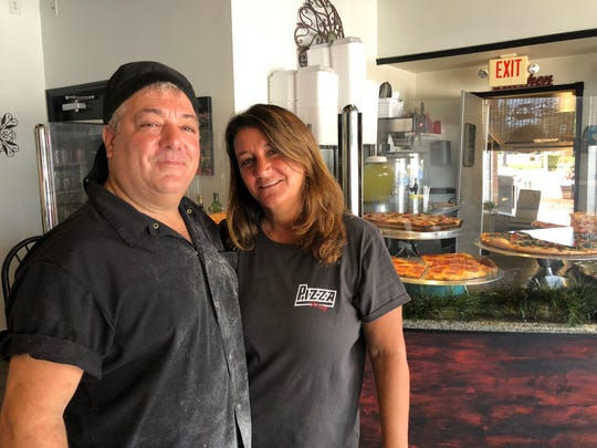 Peter and Lydia Schaeperkoetter, owners of Pizza Mia, are blown away by the community support they have seen for their restaurant following announcements of Hepatitis A found in an employee.
