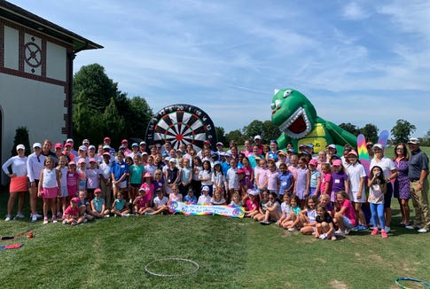 The 11th annual Girls to the Tee clinic at Westchester Country Club brought 95 juniors together for three hours of free instruction August 5, 2019, compliments of the WMGA Foundation.