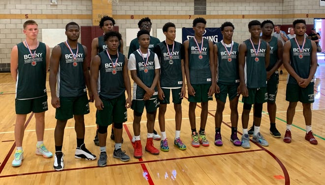 Hudson Valley's boys basketball team earned the silver medal at the BCANY Summer Hoops Festival on Aug. 4, 2019 in Johnson City.