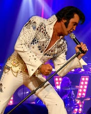 Kraig Parker will bring Elvis to Summer's Last Blast from 7 to 9:30 p.m. tonight at the Wilbarger Auditorium, 2100 Yamparika, Vernon, Texas.