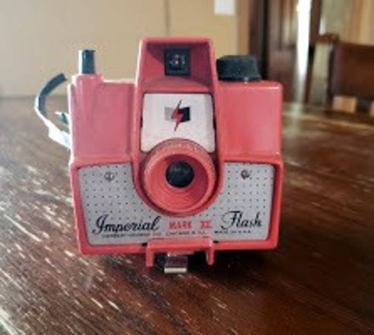 Susan's old Imperial Mark XII Flash camera.