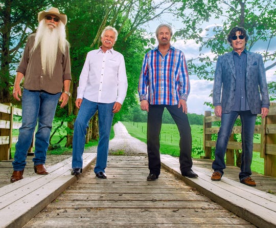 "The Oak Ridge Boys will perform at 8 p.m. Aug. 16 as part of the Muskingum County Fair. Among songs performed will most likely be ""Amazing Grace,"" which they sang for President George H.W. Bush's funeral in December."