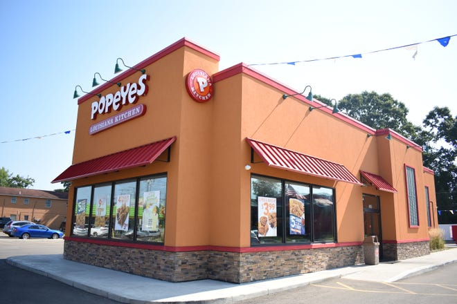 The Maple Avenue Popeye's remained closed Thursday.