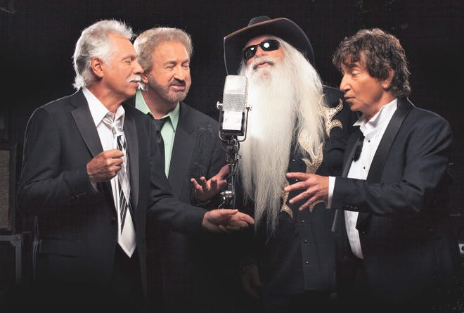 """The Oak Ridge Boys will perform at 8 p.m. Aug. 16 as part of the Muskingum County Fair. Among songs performed will most likely be """"Amazing Grace,"""" which they sang for President George H.W. Bush's funeral last December."""