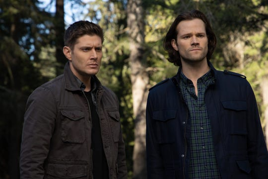 Jensen Ackles, left, and Jared Padalecki have built a big fan base playing the Winchester brothers, Dean and Sam, over 14 seasons of CW's 'Supernatural.' The 15th and final season premieres in October.