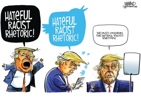 Racist Rhetoric