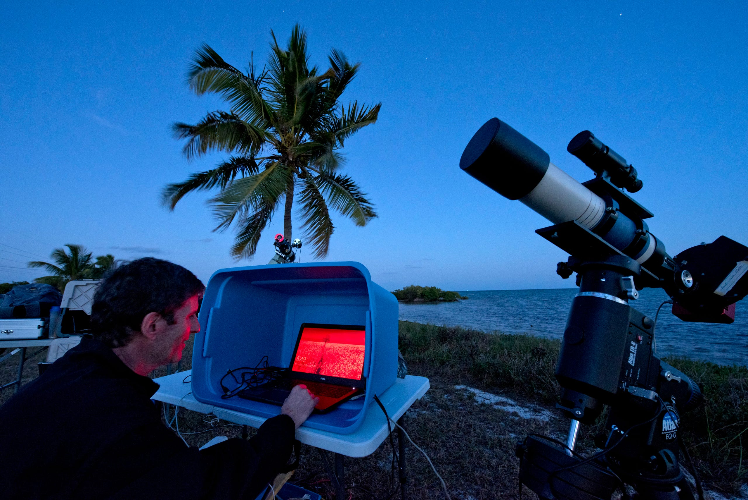 <strong>Florida Keys: </strong>The Florida Keys can offer stargazing above the palm trees. Marciano suggests finding a spot in the Lower Keys, far away from the neon lights of the Miami area.
