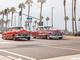 Chevy Belair lowrider in Huntington Beach California.