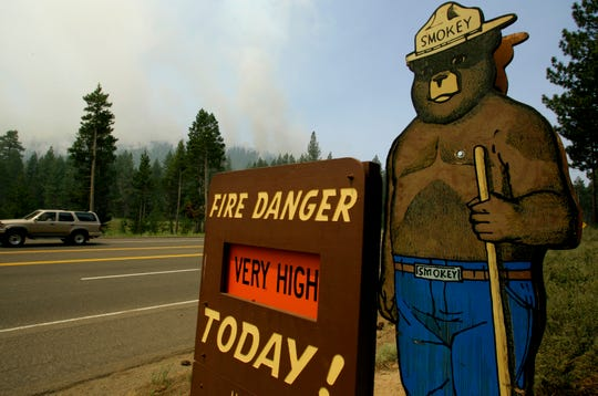 Smokey has served as a fire safety symbol for the U.S. Forest Service for decades, motivating the American public to be aware of fire hazards in national forests.