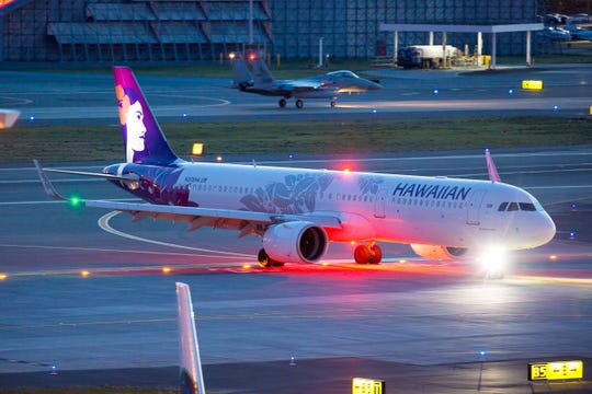 Hawaiian Airlines plane from California had to make an emergency landing in Honolulu Thursday because of smoke in the cabin.