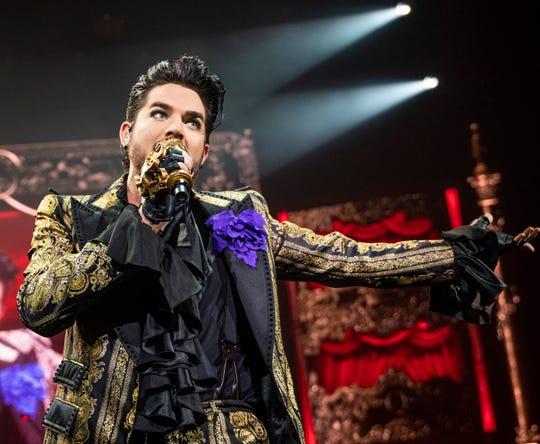 Adam Lambert will perform at Fantasy Springs Resort Casino in Indio, Calif. on Dec. 20, 2019.
