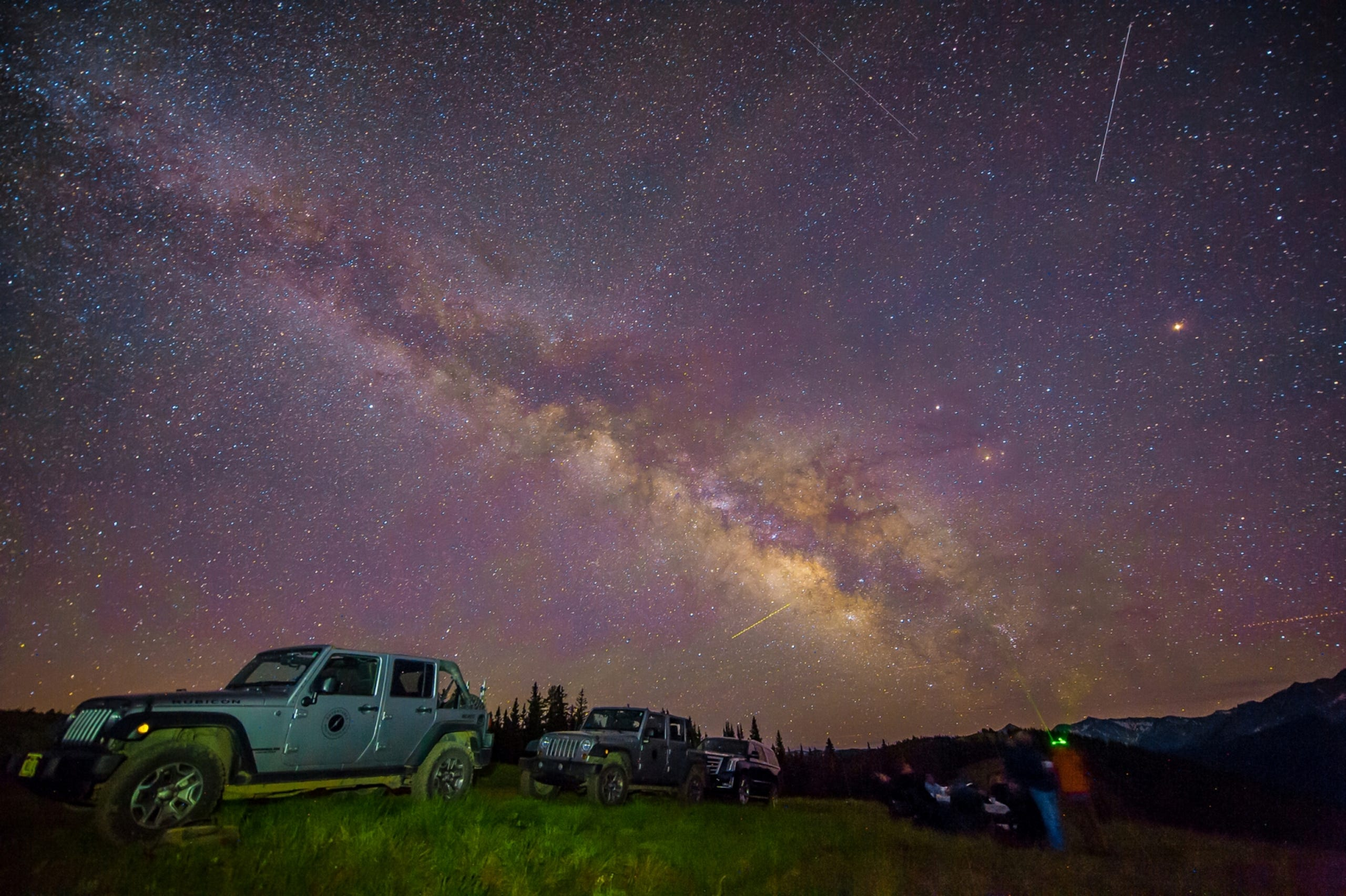 Aspen's Little Nell Hotel offers stargazing tours to see the heavens over the Rockies.