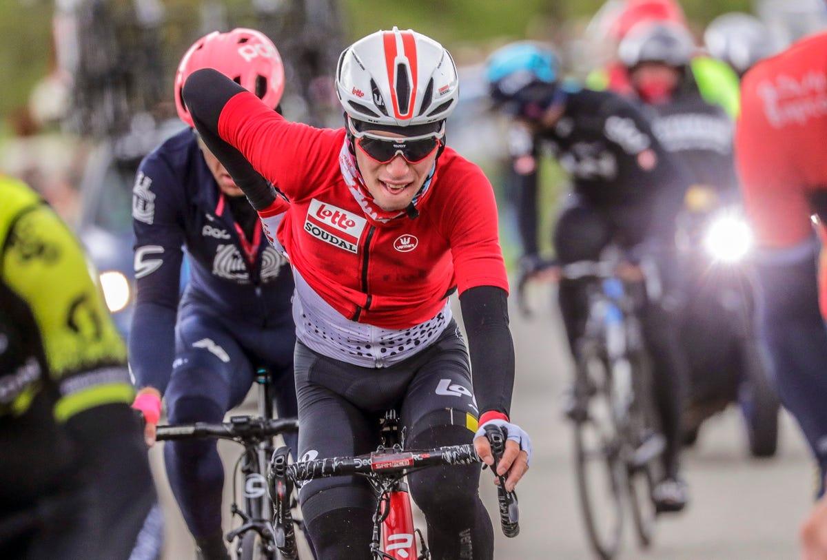 Bjorg Lambrecht, Belgian cyclist, dies after crash at Tour de Pologne