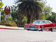 Lowrider Lincoln in San Diego Chicano Park.