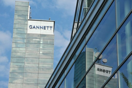 The Gannett building in McLean VA.