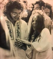 David and Eileen Colton marry in Gibson, Pennsylvania, on July 11, 1971, two years after they were at Woodstock together.