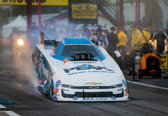 John Force recorded another milestone win in his legendary NHRA Funny Car career.