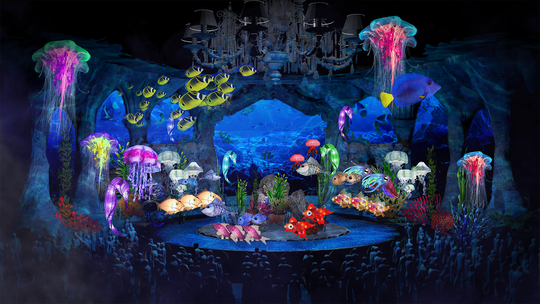 """An artist's rendering of ABC's planned """"Little Mermaid"""" live musical"""