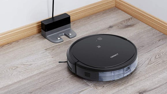 This affordable robot vacuum can help keep your floors clean for even longer.