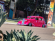 """Pink Lowrider """"Bomb"""" in San Diego."""