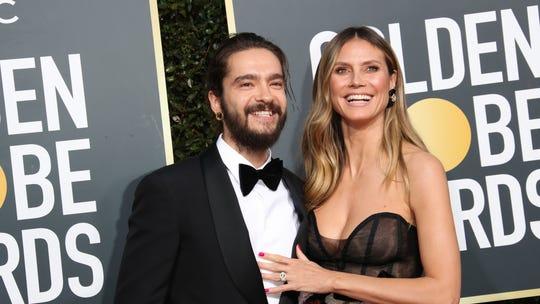 Heidi Klum, 46, slammed for topless honeymoon picture: 'All I see is MIDLIFE CRISIS'