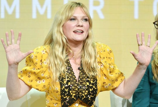 Kirsten Dunst says work can offer a respite from the non-stop employment of being full-time mom.