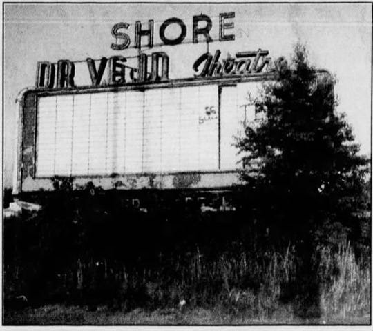 The Shore Drive-in, in Wall Township, in 1986.