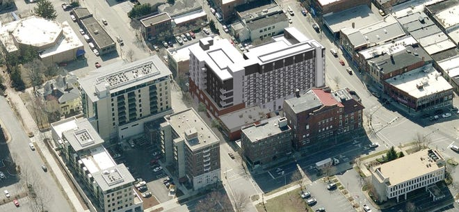 A 138-room boutique hotel with 37 residential units called Create 72 Broadway has been proposed by developer BPR Properties in Asheville. It is expected to be at least a $40 million development that could be completed in 2022.