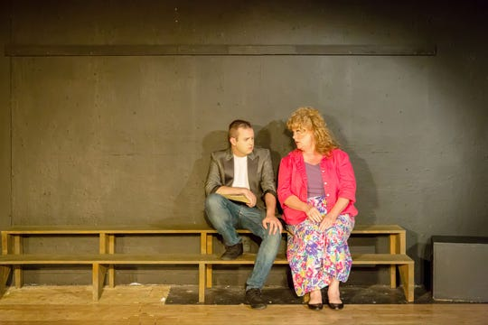 Ren (Erik Lawrence) and his mom, Ethel (Lesley Niemi) have a heart-to-heart.