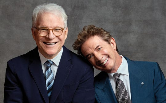 Steve Martin and Martin Short bring their act to Fantasy Springs Resort Casino on Oct. 5, 2019.