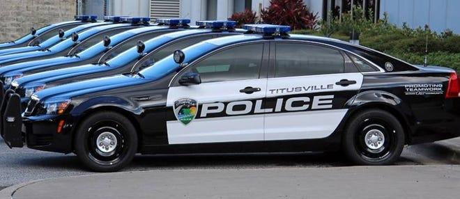 Titusville Police patrol cars