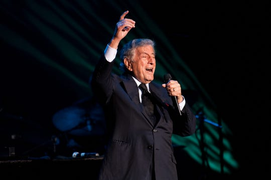 Tony Bennett plays the Flynn Theater as part of the Burlington Discover Jazz Festival on Saturday night May 31, 2014 in Burlington.