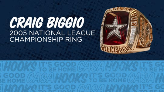 The Hooks will giveaway replica 2005 National League Championship rings to all fans at Whataburger field on Monday, Sept. 2.