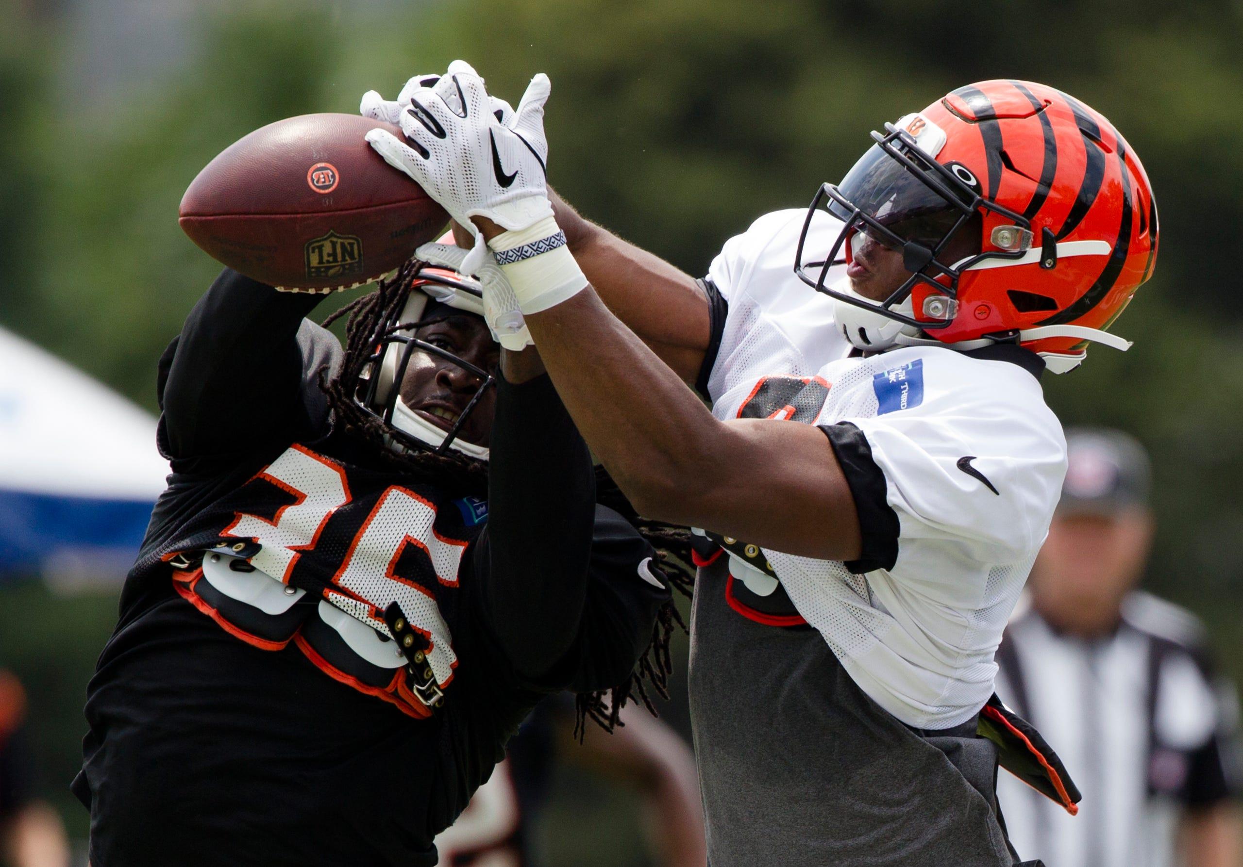 GALLERY: Cincinnati Bengals training camp Aug  6