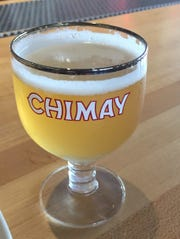 Chimay Doree, a light spiced ale, now available at Taste of Belgium