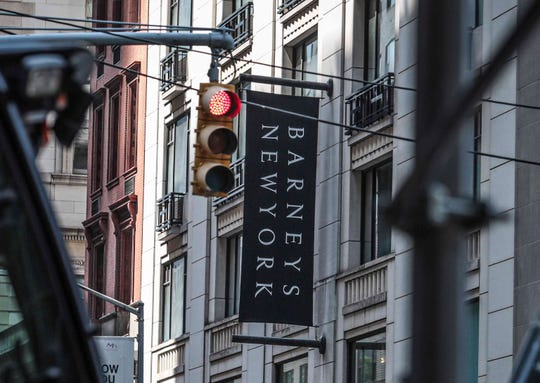 The Barneys department store in New York.