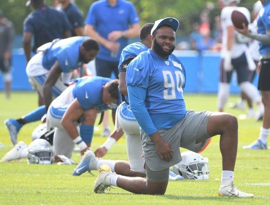 Lions Rookie D Lineman Austin Bryant To Start Practicing