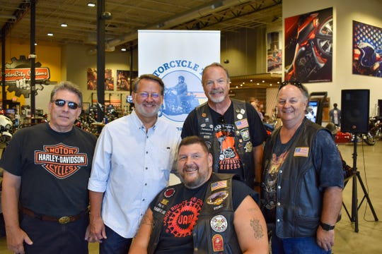 Sen. Gary Peters kicked off his annual motorcycle tour Monday in Farmington Hills.