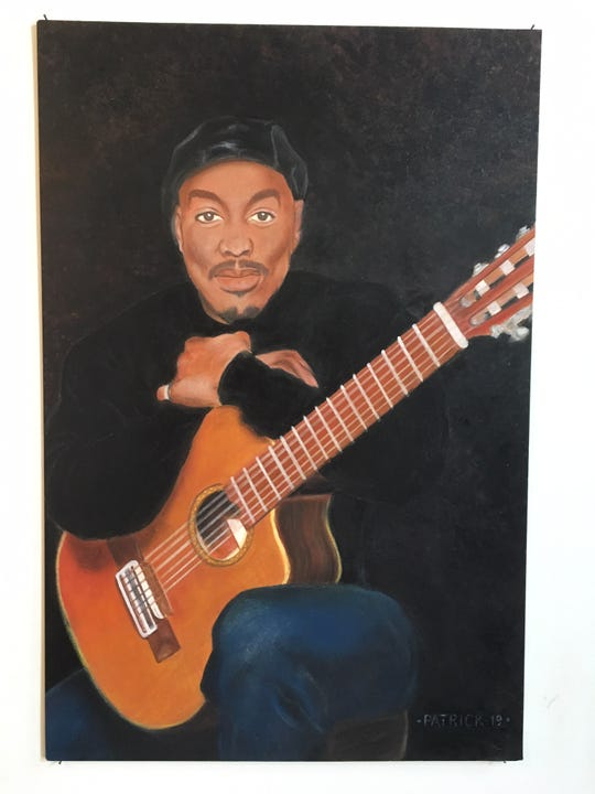 """""""Self Portrait"""" by Detroit musician Kevin Patrick in """"I'm with the Band."""""""