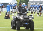 Matt Patricia's ATV is en route to Houston.