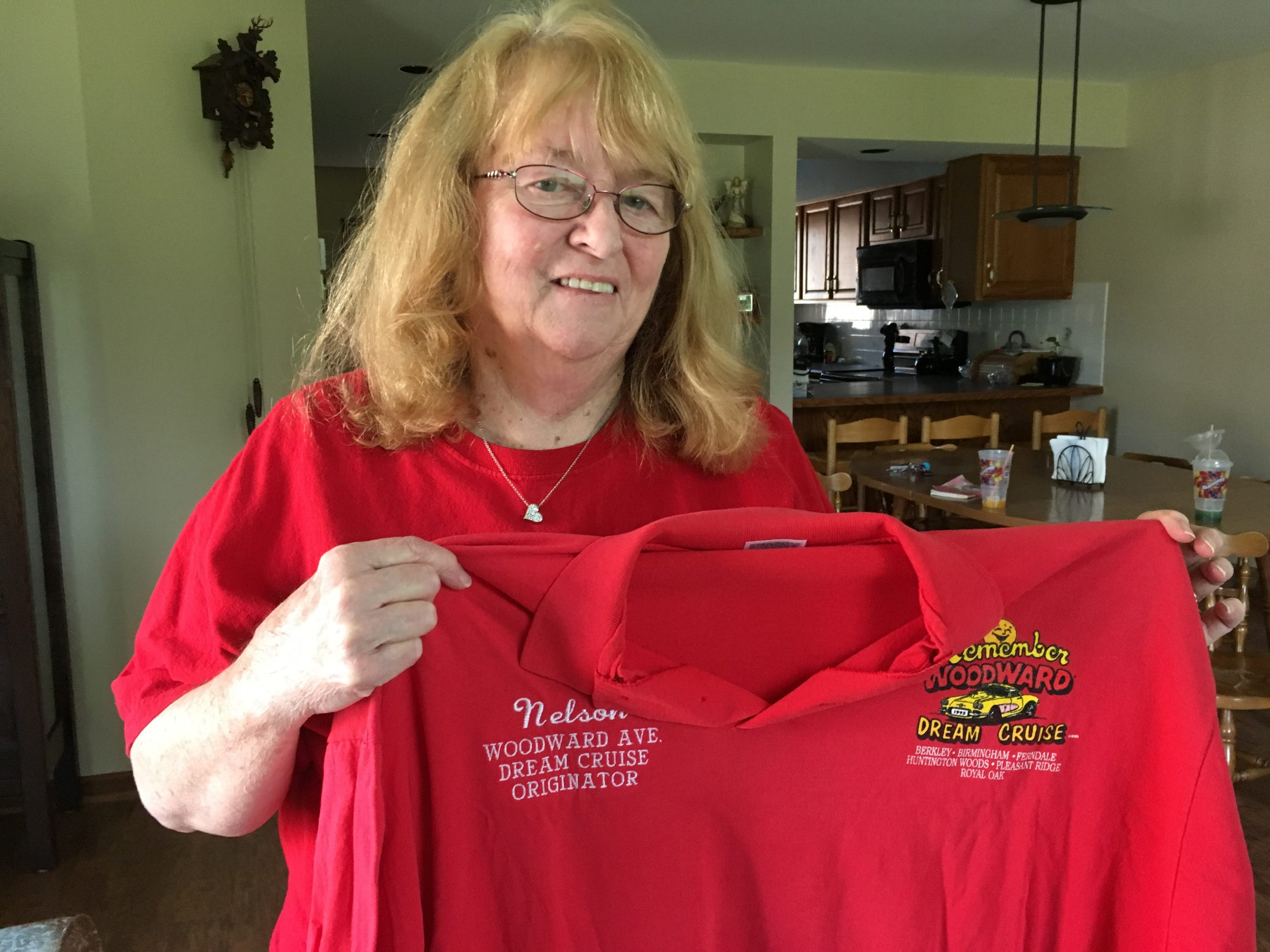 Venetta House of Wayne wants to make sure her late husband, Nelson, receives credit for creating the Woodward Dream Cruise.