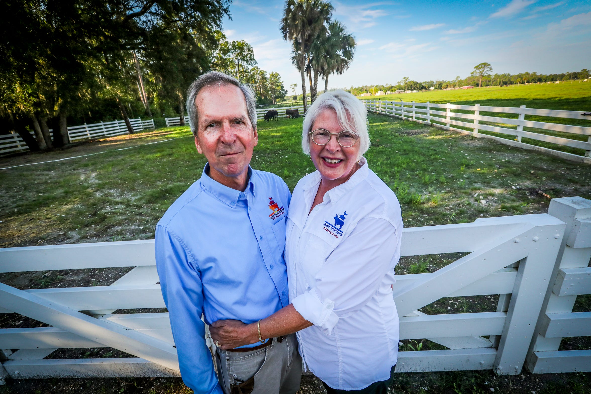 Rose O'Dell King and Gary King have transformed 101 acres of North Fort Myers farm land into Rosy Tomorrows, a farm-restaurant dedicated to changing how people eat in Florida.
