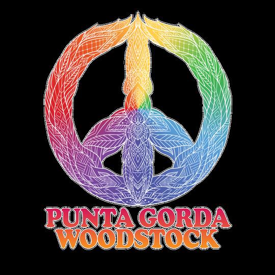 The logo for Punta Gorda Woodstock