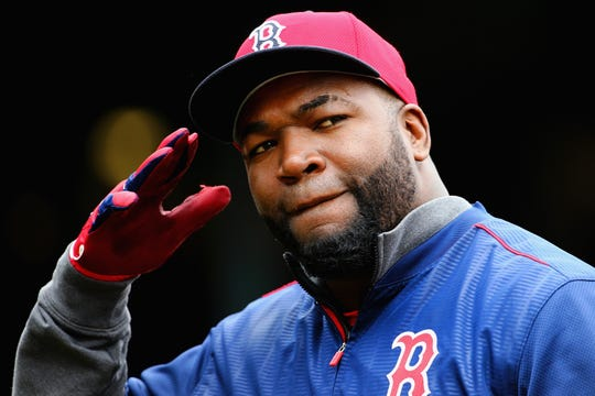 Former Boston Red Sox first baseman and designated hitter David Ortiz.