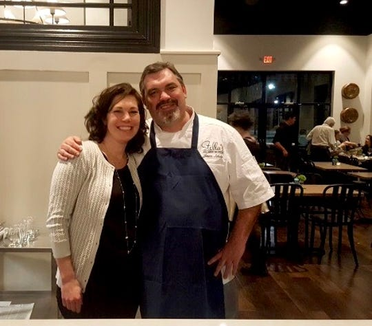 Julia and Jason Scholz, who own Stella's Southern Bistro and Stella's Southern Brasserie.