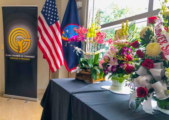 A glimpse at the interior of Guam Chamber of Commerce's new office opened in Hagåtña on Tuesday, Aug. 6, 2019.