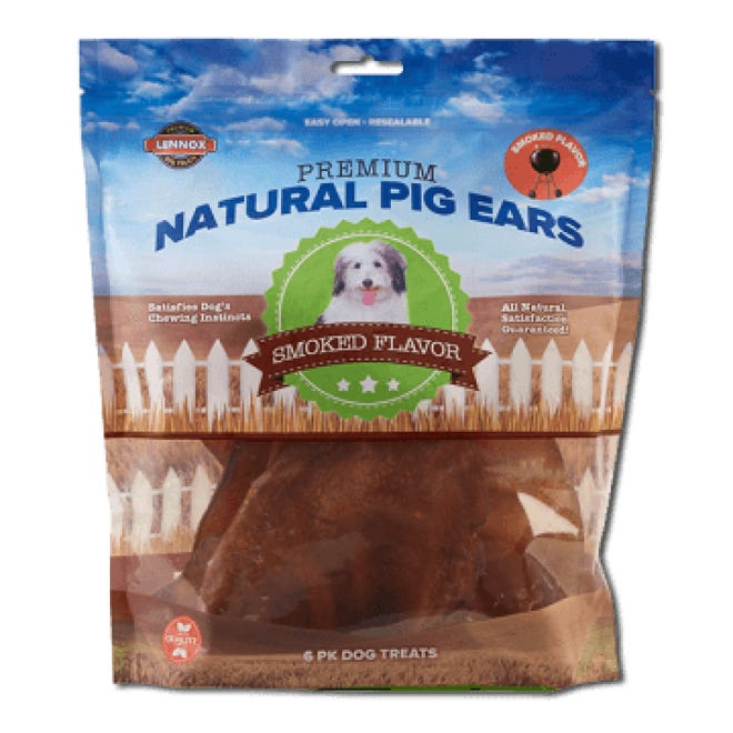 Lennox Intl. Inc premium natural pig ears